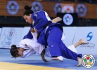 Annabelle Euranie (FRA), Andreea Chitu (ROU) - Grand Prix Samsun (2014, TUR) - © IJF Media Team, International Judo Federation