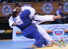 Sahar Trabelsi (TUN), Maria Suelen Altheman (BRA) - Grand Prix Samsun (2014, TUR) - © IJF Media Team, International Judo Federation