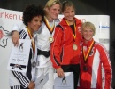 Yvonne Boenisch (GER), Miryam Roper (PAN), Julie Baeyens (BEL), Sabrina Filzmoser (AUT) - German Open Braunschweig (2008, GER) - © JudoInside.com, judo news, results and photos