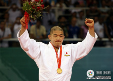 Satoshi Ishii (JPN) - Olympic Games Beijing (2008, CHN) - © IJF Media Team, International Judo Federation