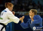 Ronda Rousey (USA), Annett Boehm (GER) - Olympic Games Beijing (2008, CHN) - © IJF Media Team, International Judo Federation