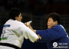 Wen Tong (CHN), Tea Donguzashvili (RUS) - Olympic Games Beijing (2008, CHN) - © IJF Media Team, International Judo Federation