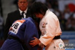 Misato Nakamura (JPN), Yanet Bermoy Acosta (CUB) - World Championships Rotterdam (2009, NED) - © IJF Media Team, International Judo Federation