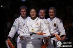 Yoshie Ueno (JPN), Elisabeth Willeboordse (NED), Claudia Malzahn (GER), Alice Schlesinger (GBR) - World Championships Rotterdam (2009, NED) - © IJF Media Team, International Judo Federation