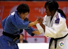 Nae Udaka (JPN), Sarah Loko Guerschner (BEL) - Grand Prix Qingdao (2010, CHN) - © IJF Media Team, International Judo Federation