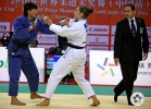 Xiuli Yang (CHN), Marhinde Verkerk (NED) - Grand Prix Qingdao (2010, CHN) - © IJF Media Team, International Judo Federation