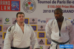 Grim Vuijsters (NED), Teddy Riner (FRA) - Grand Slam Paris (2010, FRA) - © JudoInside.com, judo news, results and photos
