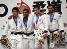 Ilias Iliadis (GRE), Daiki Nishiyama (JPN), Kirill Denisov (RUS), Elkhan Mammadov (AZE) - World Championships Tokyo (2010, JPN) - © IJF Media Team, International Judo Federation