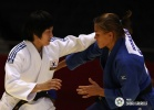 JanDi Kim (KOR), Hedvig Karakas (HUN) - World Championships Tokyo (2010, JPN) - © IJF Media Team, International Judo Federation
