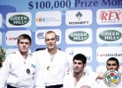 Henk Grol (NED), Maxim Rakov (KAZ), Ramadan Darwish (EGY), Or Sasson (ISR) - Grand Prix Amsterdam (2011, NED) - © IJF Media Team, IJF