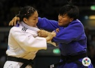 Xiuli Yang (CHN), Lkhamdegd Purevjargal (MGL) - Grand Prix Düsseldorf (2011, GER) - © IJF Media Team, International Judo Federation