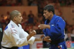 Rishod Sobirov (UZB), Sofiane Milous (FRA) - IJF Grand Slam Moscow (2011, RUS) - © IJF Media Team, International Judo Federation