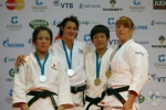 Edith Bosch (NED), Haruka Tachimoto (JPN), Fei Chen (CHN), Juliane Robra (SUI) - IJF Grand Slam Moscow (2011, RUS) - © IJF Media Team, International Judo Federation