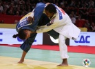 Audrey Tcheumeo (FRA), Mayra Aguiar (BRA) - Grand Slam Paris (2011, FRA) - © IJF Media Team, International Judo Federation