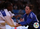 Priscilla Gneto (FRA), Andreea Chitu (ROU) - World Championships Paris (2011, FRA) - © IJF Media Team, International Judo Federation