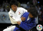Mami Umeki (JPN), Hyun-Ji Yoon (KOR) - World Championships Juniors Cape Town (2011, RSA) - © IJF Media Team, International Judo Federation