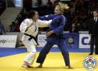 Tina Zeltner (AUT), Automne Pavia (FRA) - World Cup Bucharest (2012, ROU) - © IJF Gabriela Sabau, International Judo Federation