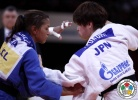 Tomoko Fukumi (JPN), Sarah Menezes (BRA) - Grand Slam Paris (2012, FRA) - © IJF Media Team, International Judo Federation