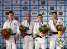 David Larose (FRA), Jun-Ho Cho (KOR), Tsagaanbaatar Khashbaatar (MGL), Sergey Lim (KAZ) - Grand Slam Paris (2012, FRA) - © IJF Media Team, International Judo Federation