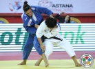 Mayra Aguiar (BRA), Xiuli Yang (CHN) - IJF World Masters Almaty (2012, KAZ) - © IJF Media Team, International Judo Federation
