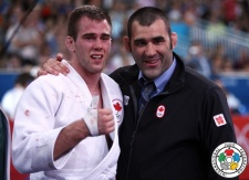 Antoine Valois-Fortier (CAN), Nicolas Gill (CAN) - Olympic Games London (2012, GBR) - © IJF Media Team, IJF