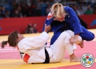 Automne Pavia (FRA), Hedvig Karakas (HUN) - Olympic Games London (2012, GBR) - © IJF Media Team, International Judo Federation