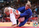 Gemma Gibbons (GBR), Kayla Harrison (USA) - Olympic Games London (2012, GBR) - © IJF Media Team, International Judo Federation