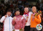 Tuvshinbayar Naidan (MGL), Tagir Khaibulaev (RUS), Henk Grol (NED), Dimitri Peters (GER) - Olympic Games London (2012, GBR) - © IJF Media Team, IJF