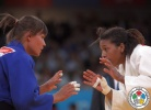 Hedvig Karakas (HUN), Rafaela Silva (BRA) - Olympic Games London (2012, GBR) - © IJF Media Team, International Judo Federation