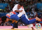 Maria Suelen Altheman (BRA), Wen Tong (CHN) - Olympic Games London (2012, GBR) - © IJF Media Team, International Judo Federation