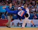 Dmytro Solovey (UKR), Sharif Khalilov (UZB) - Paralympic Games London (2012, GBR) - © David Finch, Judophotos.com