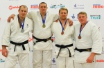 Matthew Clempner (GBR), Christopher Sherrington (GBR), Neil Schofield (GBR), Mark Shaw (GBR) - British Championships Sheffield (2013, GBR) - © Mike Varey - Elitepix, British Judo Association