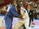 Teddy Riner (FRA), Adam Okruashvili (GEO) - European Championships Budapest (2013, HUN) - © IJF Media Team, International Judo Federation