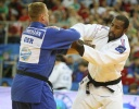 Teddy Riner (FRA), Robert Zimmermann (GER) - European Championships Budapest (2013, HUN) - © IJF Media Team, International Judo Federation