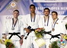 Tal Flicker (ISR), Ivan Spirin (RUS), Nathon Burns (IRL), Remus Lazea (ROU) - European Open Bucharest (2013, ROU) - © IJF Media Team, International Judo Federation