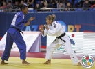 Olessya Kutsenko (KAZ), Raquel Silva (BRA) - Grand Prix Almaty (2013, KAZ) - © IJF Media Team, International Judo Federation
