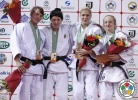 Kristina Rumyantseva (RUS), Alexandra Podryadova (KAZ), Maryna Cherniak (UKR), Shira Rishony (ISR) - Grand Prix Almaty (2013, KAZ) - © IJF Media Team, International Judo Federation