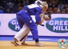 Andreea Chitu (ROU), Tetiana Levytska-Shukvani (GEO) - Grand Prix Jeju (2013, KOR) - © IJF Media Team, International Judo Federation