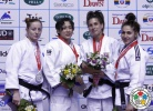 Christa Deguchi (CAN), Corina Stefan (ROU), Shushana Hevondian (UKR), Jovana Rogic (SRB) - Grand Prix Jeju (2013, KOR) - © IJF Media Team, International Judo Federation
