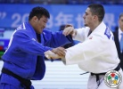 Adlan Bisultanov (RUS), Mingchao Hu (CHN) - Grand Prix Qingdao (2013, CHN) - © IJF Media Team, International Judo Federation