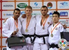 Szabolcs Krizsan (HUN), Carlos Luz (POR), Maxim Buga (RUS), SeungSu Lee (KOR) - Grand Prix Rijeka (2013, CRO) - © IJF Media Team, International Judo Federation