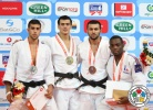 Kamal Khan-Magomedov (RUS), Dimitri Dragin (FRA), Golan Pollack (ISR), Georgii Zantaraia (UKR) - Grand Prix Samsun (2013, TUR) - © IJF Media Team, International Judo Federation