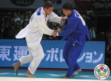 Kyle Reyes (CAN), Lukas Krpálek (CZE) - Grand Slam Tokyo (2013, JPN) - © IJF Media Team, International Judo Federation