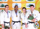 Walter Santos (BRA), David Moura (BRA), Levani Matiashvili (GEO), Andrey Volkov (RUS) - IJF Grand Slam Baku (2013, AZE) - © IJF Media Team, International Judo Federation
