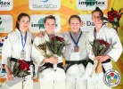 Kelita Zupancic (CAN), Laura Vargas Koch (GER), Sally Conway (GBR), Juliane Robra (SUI) - IJF Grand Slam Baku (2013, AZE) - © IJF Media Team, International Judo Federation