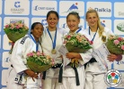 Yarden Gerbi (ISR), Anicka van Emden (NED), Mungunchimeg Baldorj (MGL), Martyna Trajdos (GER) - IJF Grand Slam Moscow (2013, RUS) - © IJF Media Team, International Judo Federation
