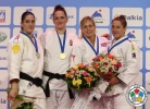 Abigel Joo (HUN), Mayra Aguiar (BRA), Gemma Gibbons (GBR), Marhinde Verkerk (NED) - IJF Grand Slam Moscow (2013, RUS) - © IJF Media Team, International Judo Federation