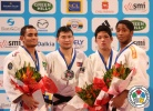 Tsagaanbaatar Khashbaatar (MGL), Bruno Mendonca (BRA), Dex Elmont (NED), Shohei Ono (JPN) - Grand Slam Paris (2013, FRA) - © IJF Media Team, International Judo Federation