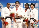 Song Yu (CHN), Maria Suelen Altheman (BRA), Idalys Ortiz (CUB), Lucija Polavder (SLO) - IJF World Masters Tyumen (2013, RUS) - © IJF Media Team, International Judo Federation