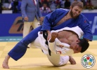 Zebeda Rekhviashvili (GEO), Murat Kodzokov (RUS) - World Championships Rio de Janeiro (2013, BRA) - © IJF Media Team, International Judo Federation